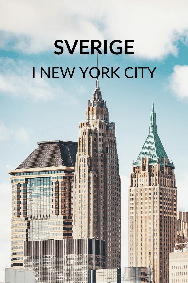 Sverige i NYC